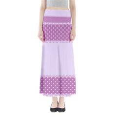 Purple Modern Maxi Skirts