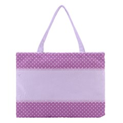 Purple Modern Medium Tote Bag