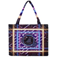 Abstract Sphere Room 3d Design Mini Tote Bag by Nexatart