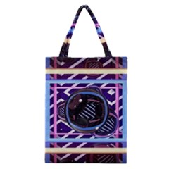 Abstract Sphere Room 3d Design Classic Tote Bag