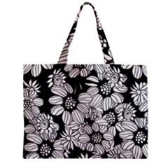 Mandala Calming Coloring Page Zipper Mini Tote Bag