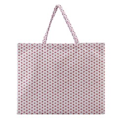 Motif Pattern Decor Backround Zipper Large Tote Bag