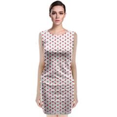 Motif Pattern Decor Backround Classic Sleeveless Midi Dress