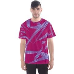 Background Vector Texture Pattern Men s Sport Mesh Tee
