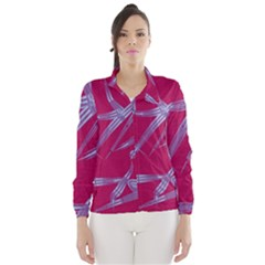 Background Vector Texture Pattern Wind Breaker (women)