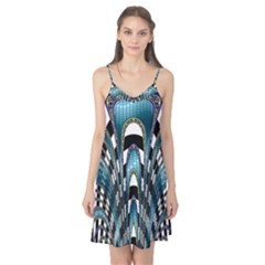 Abstract Art Design Texture Camis Nightgown