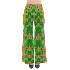 Jungle Love In Fantasy Landscape Of Freedom Peace Pants by pepitasart