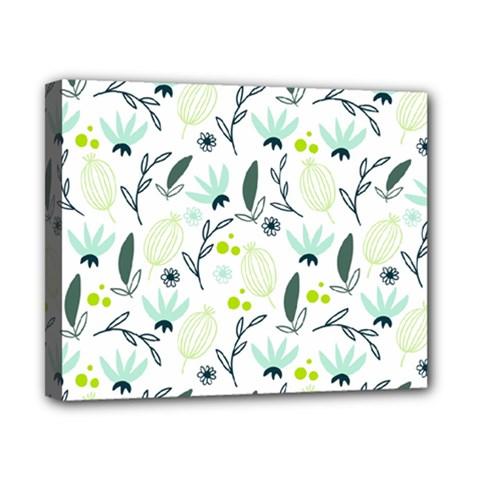 Hand Drawm Seamless Floral Pattern Canvas 10  X 8  by TastefulDesigns