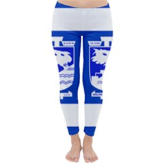 Flag Of Holon  Classic Winter Leggings by abbeyz71