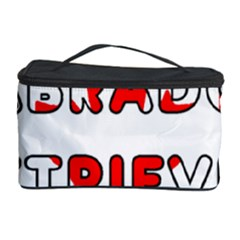 Lab Canadian Flag In Name Cosmetic Storage Case