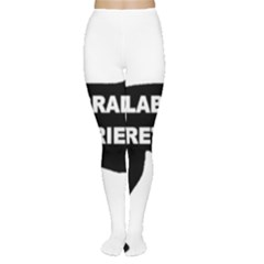 Labrador Retriever Black Name Color Silo Women s Tights by TailWags