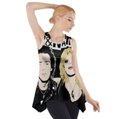 Sid And Nancy Side Drop Tank Tunic by Valentinaart