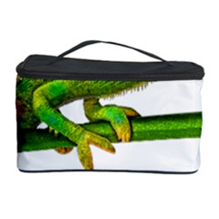 Chameleons Cosmetic Storage Case by Valentinaart