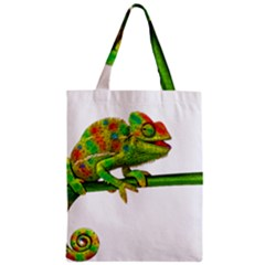 Chameleons Zipper Classic Tote Bag by Valentinaart