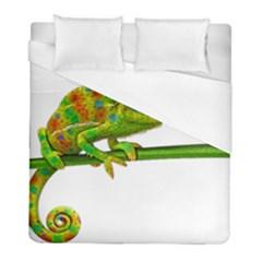 Chameleons Duvet Cover (full/ Double Size) by Valentinaart