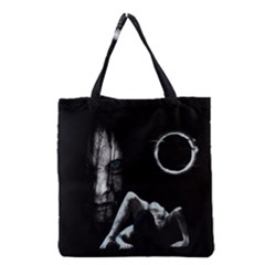 The Ring Grocery Tote Bag by Valentinaart