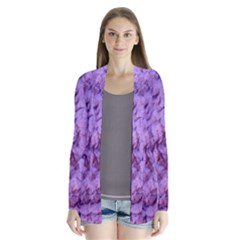 Purple Wall Background Cardigans