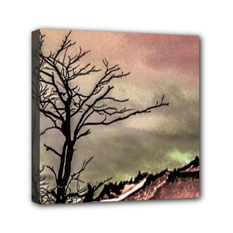 Fantasy Landscape Illustration Mini Canvas 6  X 6  by dflcprints