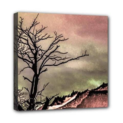 Fantasy Landscape Illustration Mini Canvas 8  X 8  by dflcprints
