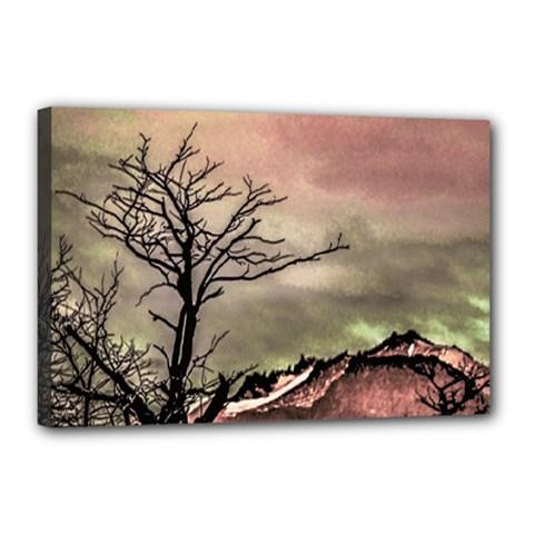 Fantasy Landscape Illustration Canvas 18  X 12  by dflcprints