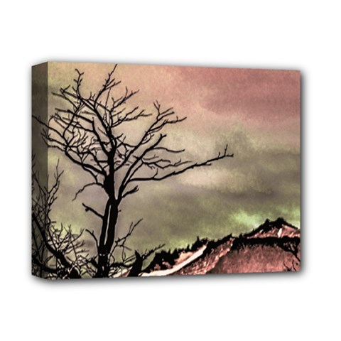 Fantasy Landscape Illustration Deluxe Canvas 14  X 11  by dflcprints
