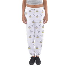 Cactus Pattern Women s Jogger Sweatpants by ValentinaDesign