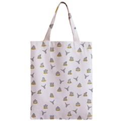 Cactus Pattern Zipper Classic Tote Bag by ValentinaDesign