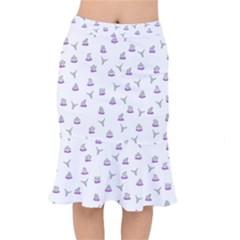 Cactus Pattern Mermaid Skirt by ValentinaDesign
