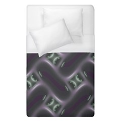 Closeup Purple Line Duvet Cover (single Size) by Mariart