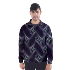 Closeup Purple Line Wind Breaker (men) by Mariart
