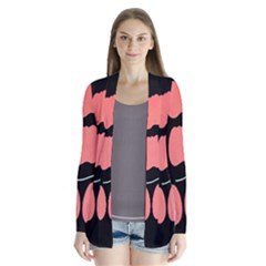 Craft Pink Black Polka Spot Cardigans by Mariart