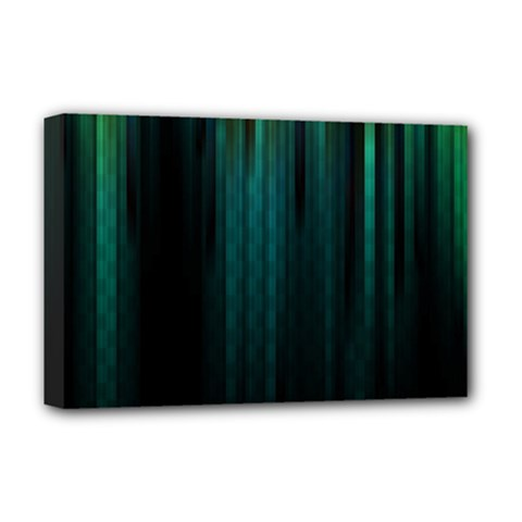 Lines Light Shadow Vertical Aurora Deluxe Canvas 18  X 12   by Mariart
