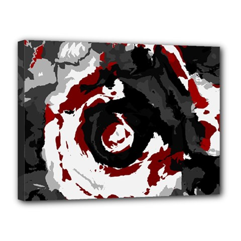Abstract Art Canvas 16  X 12  by ValentinaDesign