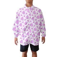 Sweet Doodle Pattern Pink Wind Breaker (kids)