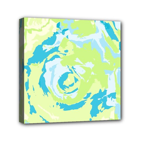 Abstract Art Mini Canvas 6  X 6  by ValentinaDesign