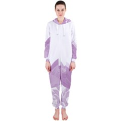 Tulips Hooded Jumpsuit (Ladies)