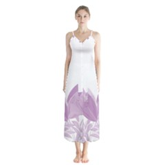 Tulips Chiffon Maxi Dress