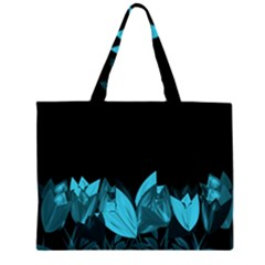 Tulips Large Tote Bag by ValentinaDesign