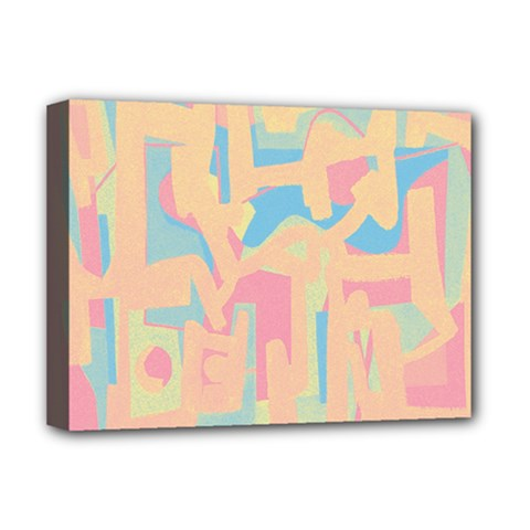 Abstract Art Deluxe Canvas 16  X 12   by ValentinaDesign