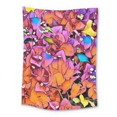 Floral Dreams 15 Medium Tapestry by MoreColorsinLife