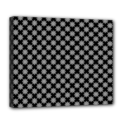Pattern Deluxe Canvas 24  X 20   by ValentinaDesign