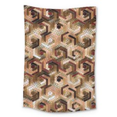 Pattern Factory 23 Brown Large Tapestry by MoreColorsinLife