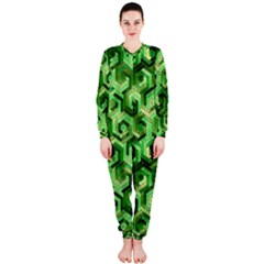 Pattern Factory 23 Green Onepiece Jumpsuit (ladies)