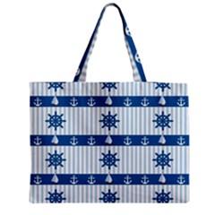 Sea Pattern Medium Tote Bag by Valentinaart