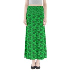 Roses Pattern Maxi Skirts by Valentinaart