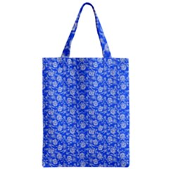 Roses Pattern Zipper Classic Tote Bag by Valentinaart