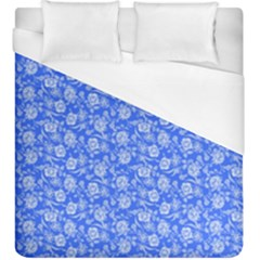Roses Pattern Duvet Cover (king Size) by Valentinaart