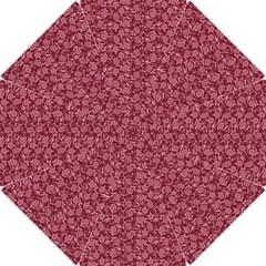 Roses Pattern Hook Handle Umbrellas (small) by Valentinaart