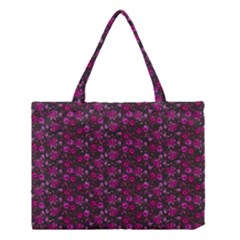 Roses Pattern Medium Tote Bag by Valentinaart
