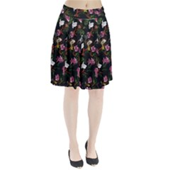 Tropical Pattern Pleated Skirt by Valentinaart